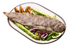Fish Dover sole Stock Images