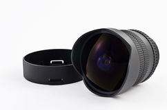 Fish eye lens Stock Photos