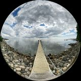Fish eye. Taken from my oneplus one Stock Images