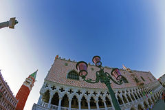 Fish-eye view of San Marco square in Venice, Italy 1 Royalty Free Stock Photo
