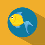 Fish figure design Royalty Free Stock Image
