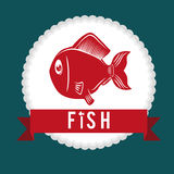 Fish figure design Royalty Free Stock Photography