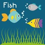 Fish figure design Stock Images