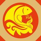 Fish figure design Royalty Free Stock Photography