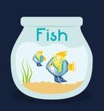 Fish figure design Royalty Free Stock Photos
