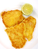 Fish Filet with lemon Royalty Free Stock Photo