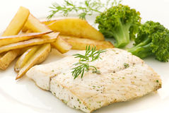 Fish fillet Stock Photo