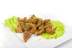 Fish fillet baked at caramel Stock Images