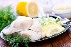 Fish fillet Royalty Free Stock Images