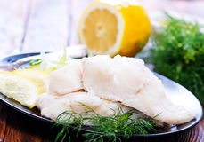 Fish fillet Royalty Free Stock Photography