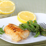 Fish Fillet Meal Stock Images