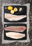 Fish fillets Royalty Free Stock Photography
