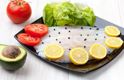 Fish fillets Royalty Free Stock Photo