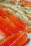 Fish fillets for sale Stock Photo
