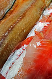 Fish fillets for sale 4 Royalty Free Stock Images