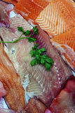 Fish fillets for sale 7 Stock Image