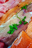 Fish fillets for sale 5 Stock Photography