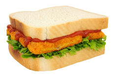 Fish Finger Sandwich Royalty Free Stock Images