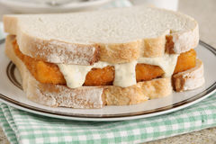 Fish Finger Sandwich Stock Images