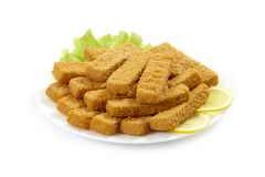 Fish fingers Stock Image