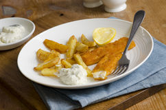 Fish fingers Stock Photos