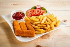 Free Fish Fingers Stock Images - 64819454
