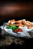 Fish Fingers Stock Images