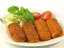 Fish fingers dish,  Stock Photo