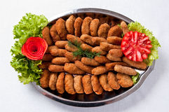 Fish fingers dish Stock Image