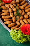Fish fingers dish Stock Photos