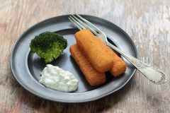 Fish fingers. Stock Image