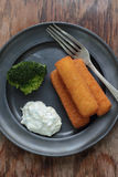 Fish fingers. Stock Photography