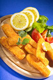 Fish fingers Stock Photography