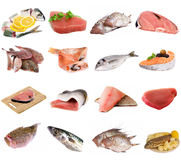 Fish and fish fillets royalty free stock image