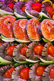 Fish in a fish restaurant Royalty Free Stock Photo