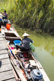 The fish fishing boat Stock Photography