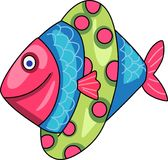 FISH WITH FLOAT Stock Photography