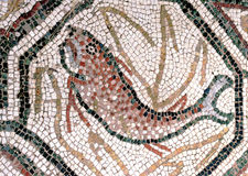 Fish - Floor mosaics Stock Image