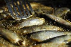 Fish food Stock Photo