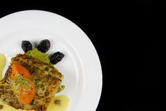 Free Fish For Dinner, Copy Space Royalty Free Stock Photo - 56079295