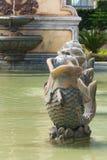 Fish fountain model Royalty Free Stock Photo