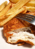 Fish french fries english meal Royalty Free Stock Image