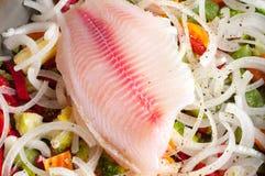 Fish fresh fillet Stock Photo