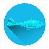 Fish Fresh Food Icon Royalty Free Stock Photos