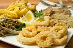 Fish fried Stock Photos