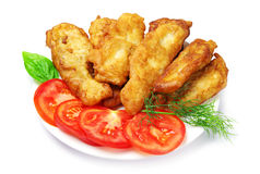 Fish fried in dough Royalty Free Stock Photos