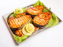 Fish fried fish Royalty Free Stock Image