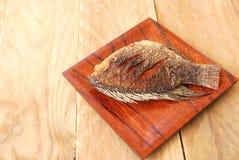 Fish fried Royalty Free Stock Photo