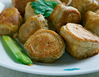Fish fritter Stock Images