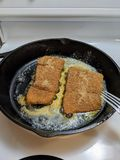 Fish fry royalty free stock photo